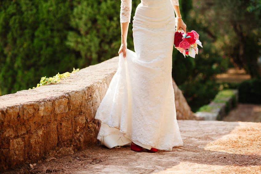 Bouquet de mariée en feutrine