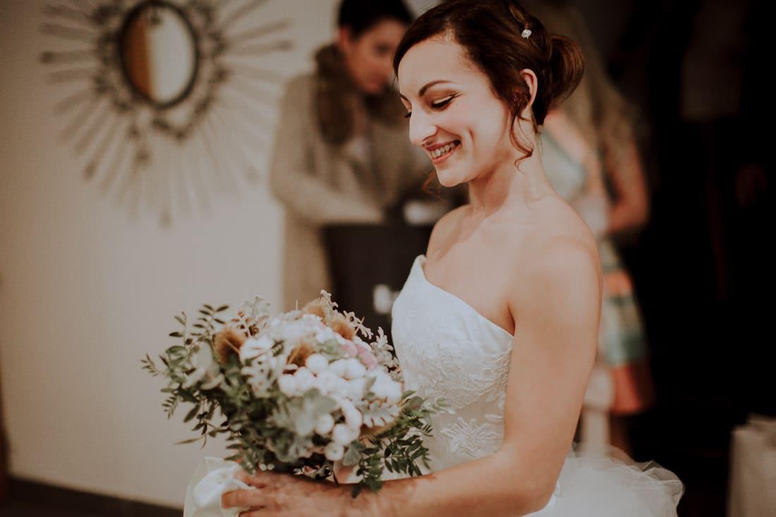 Un bouquet de fleur coloré pour le mariage