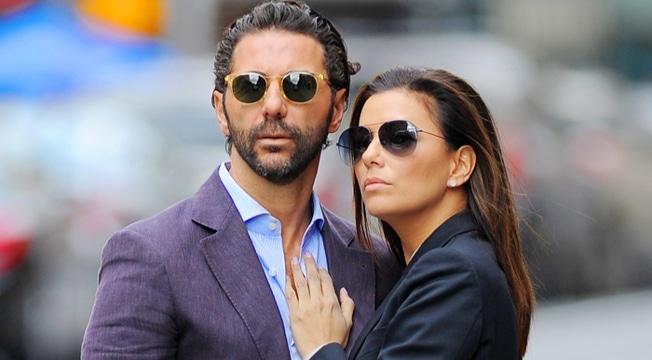 Eva Longoria et son mari