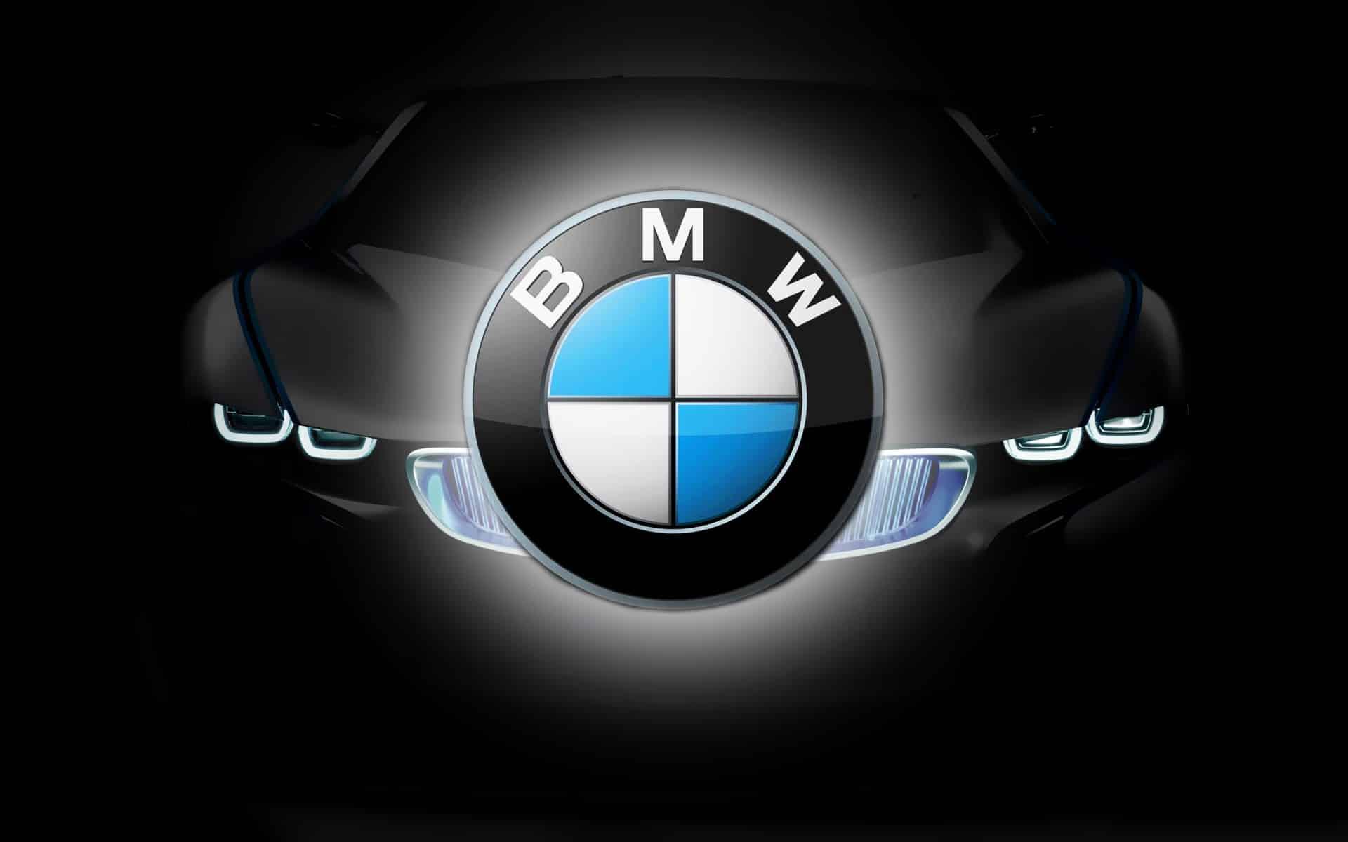 Le logo des voitures BMW