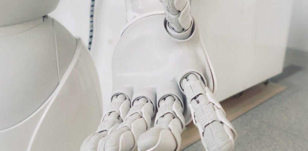 Une main de robot
