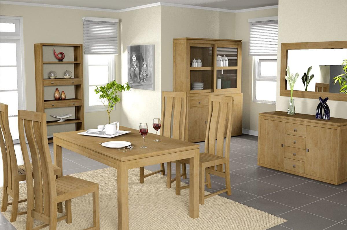 La chaise de salle manger de nombreux crit res pour choisir - Salle a manger en bois ...