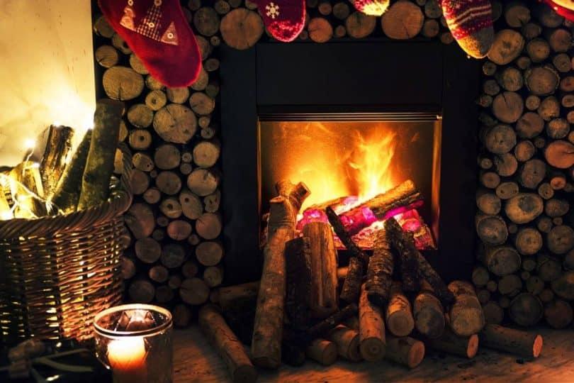 la cheminée pour son chauffage
